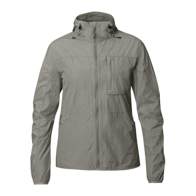 Women Fjallraven HIGH COAST WIND JACKET W FOG Outlet Online