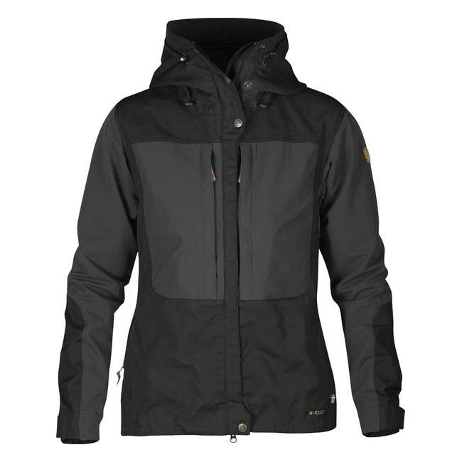Women Fjallraven KEB WOMEN\'S JACKET BLACK  Outlet Online