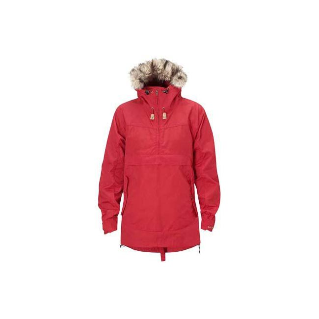 Women Fjallraven ICELAND WOMENS ANORAK RED Outlet Online