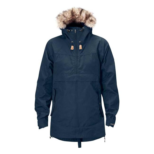 Women Fjallraven ICELAND WOMENS ANORAK NAVY  Outlet Online