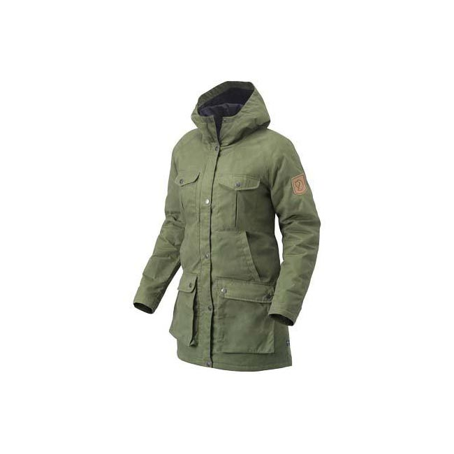 Women Fjallraven GREENLAND PARKA (W) GREEN  Outlet Online