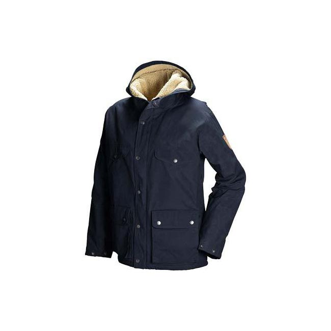 Women Fjallraven GREENLAND WINTER JACKET W DARK NAVY Outlet Online
