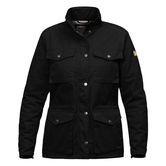 Women Fjallraven RÄVEN WINTER JACKET W BLACK  Outlet Online
