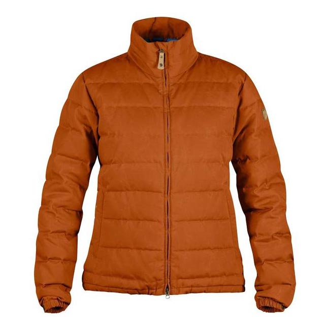 Women Fjallraven ÖVIK LITE JACKET W AUTUMN LEAF  Outlet Online