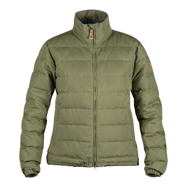 Women Fjallraven ÖVIK LITE JACKET W GREEN Outlet Online