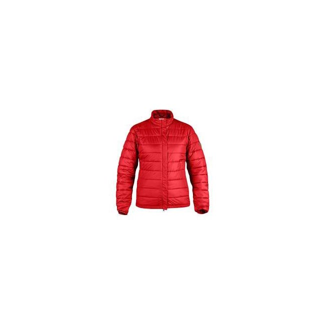 Women Fjallraven KEB WOMENS PADDED JACKET RED Outlet Online