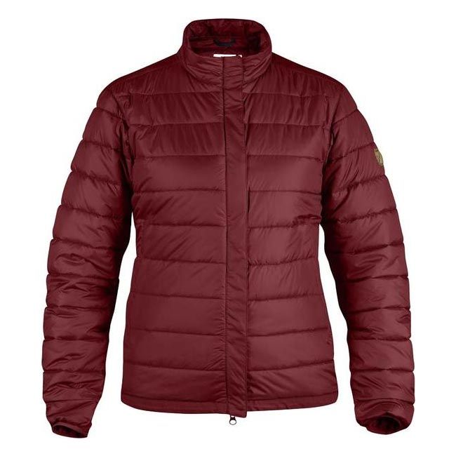 Women Fjallraven KEB WOMENS PADDED JACKET OX RED Outlet Online