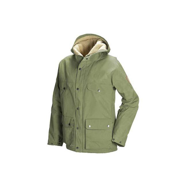 Women Fjallraven GREENLAND WINTER JACKET W GREEN  Outlet Online