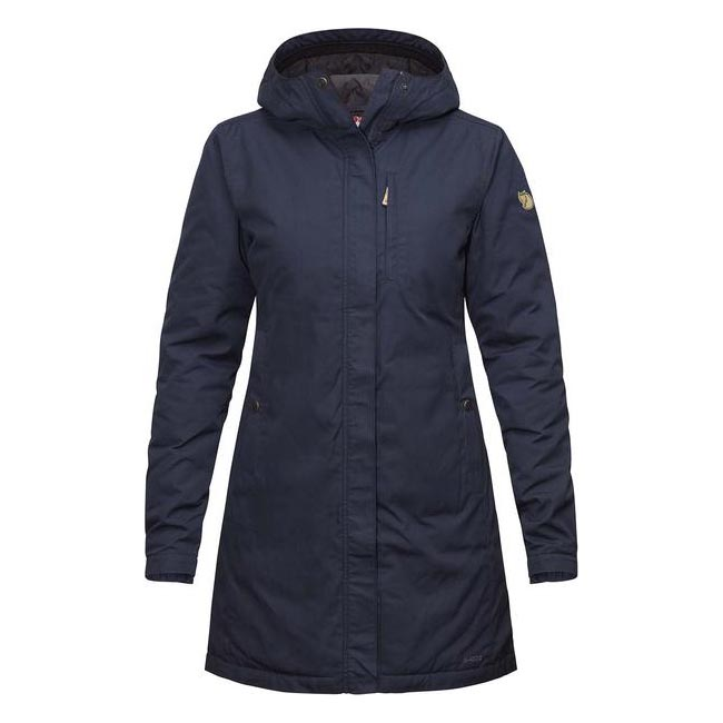 Women Fjallraven KIRUNA PADDED PARKA W DARK NAVY Outlet Online