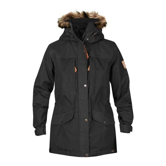 Women Fjallraven SINGI WINTER JACKET W DARK GREY  Outlet Online