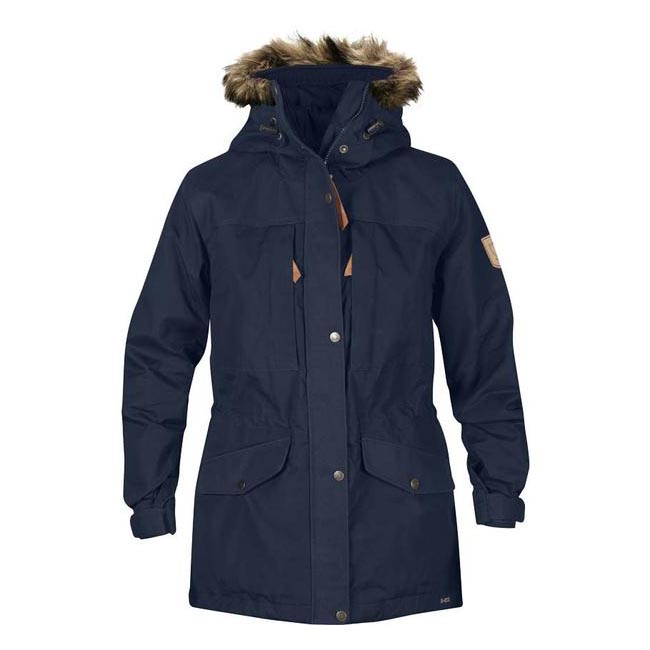 Women Fjallraven SINGI WINTER JACKET W DARK NAVY Outlet Online