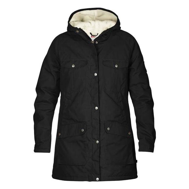 Women Fjallraven GREENLAND WINTER PARKA W BLACK  Outlet Online