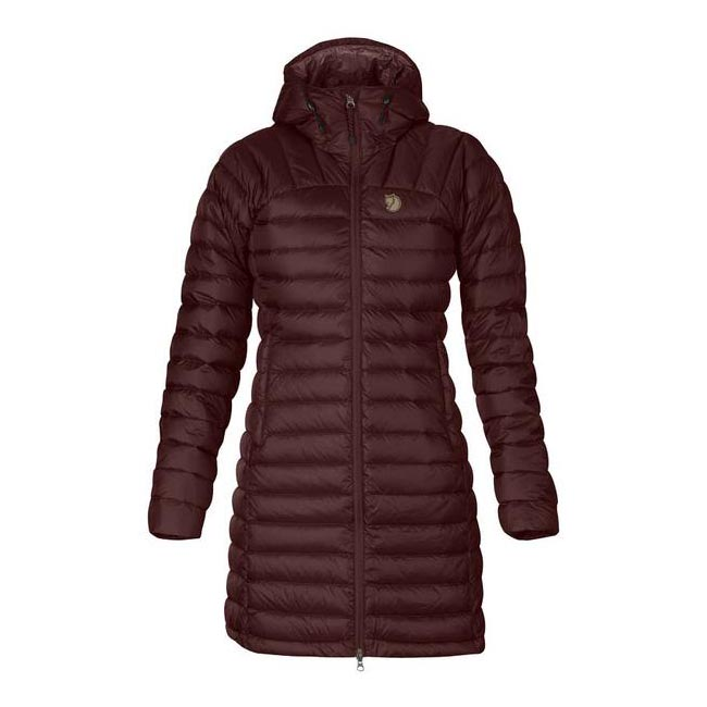 Women Fjallraven SNOW FLAKE PARKA BURNT RED  Outlet Online