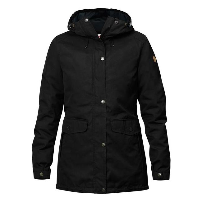 Women Fjallraven ÖVIK 3 IN 1 PARKA W BLACK Outlet Online