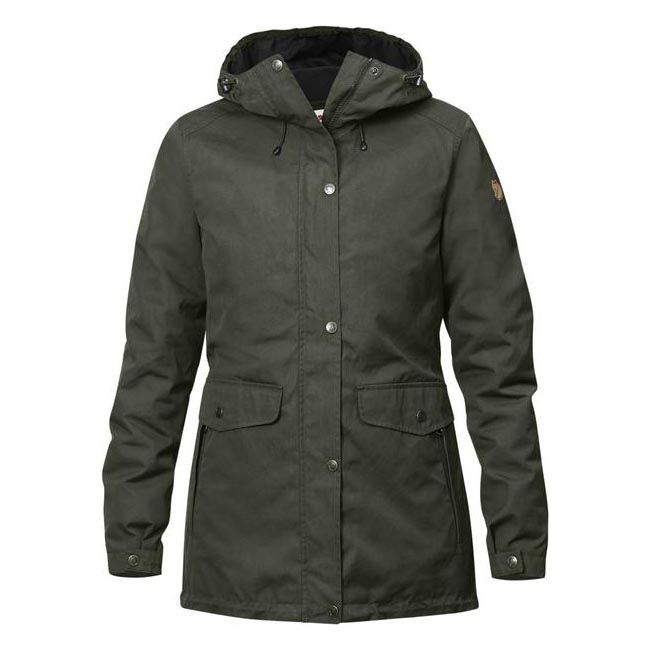 Women Fjallraven ÖVIK 3 IN 1 PARKA W MOUNTAIN GREY Outlet Online