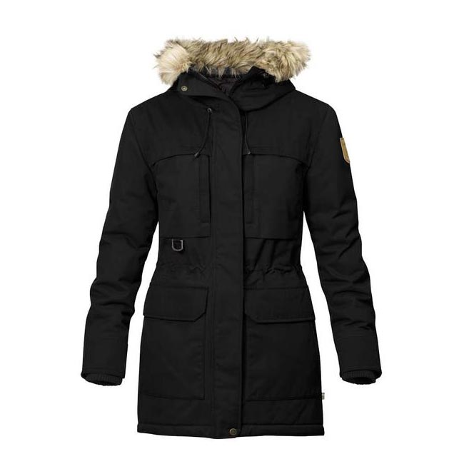Women Fjallraven POLAR GUIDE PARKA W BLACK  Outlet Online