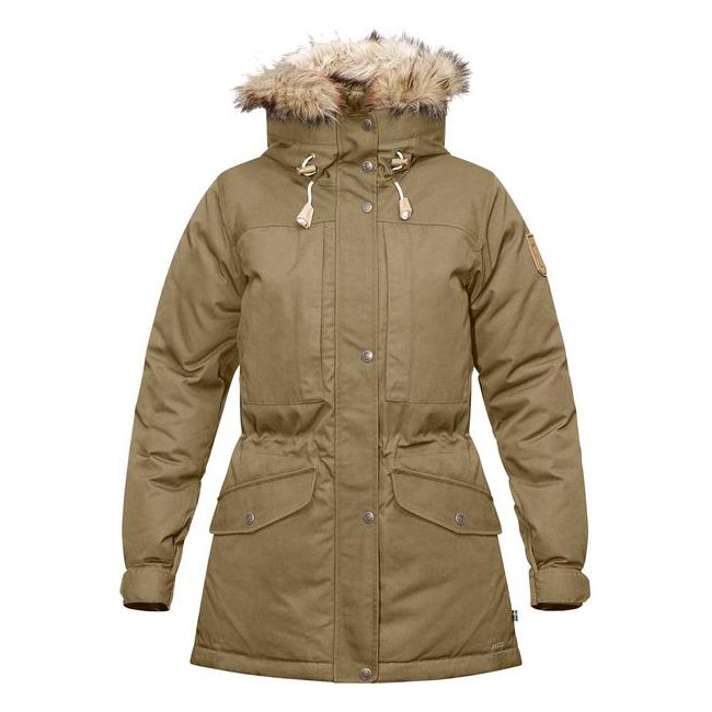 Women Fjallraven SINGI DOWN JACKET W SAND  Outlet Online