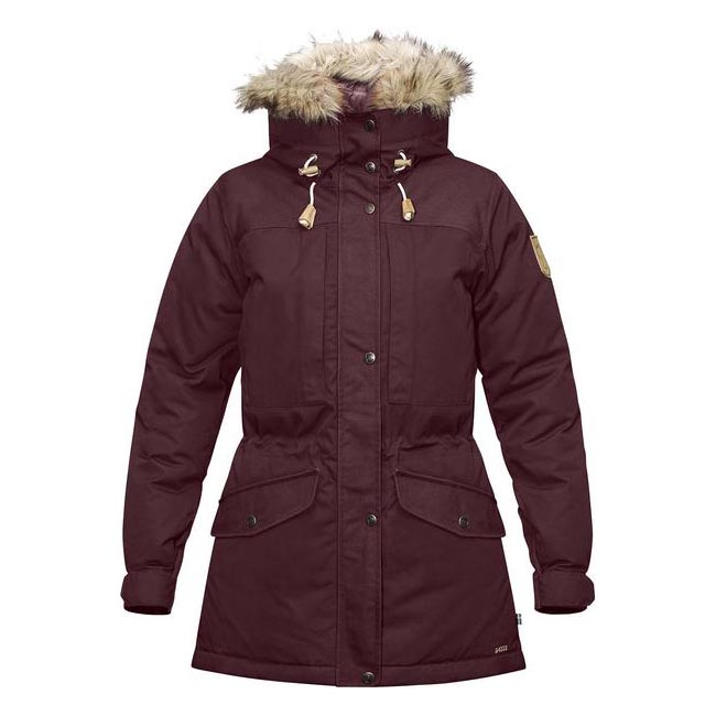 Women Fjallraven SINGI DOWN JACKET W DARK GARNET  Outlet Online
