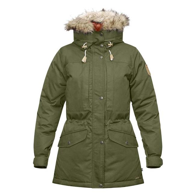 Women Fjallraven SINGI DOWN JACKET W GREEN  Outlet Online