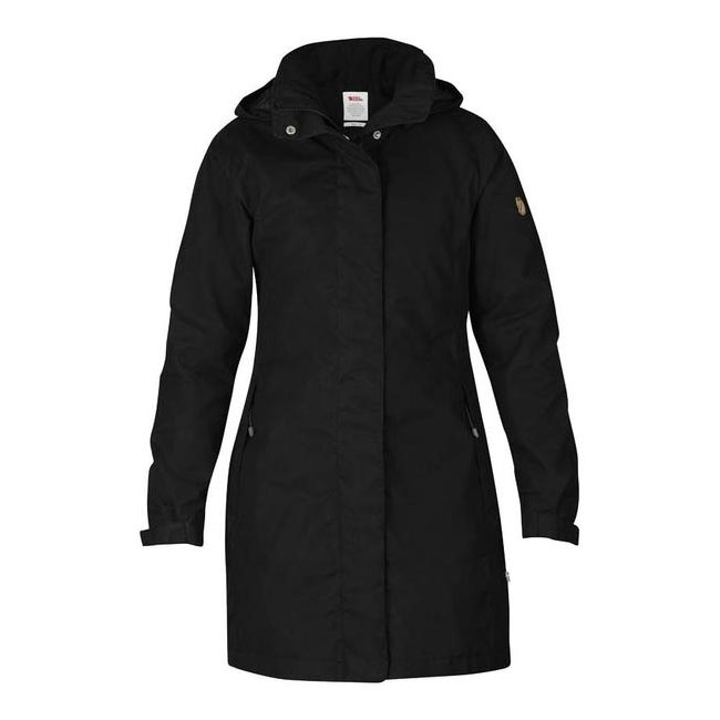 Women Fjallraven UNA JACKET BLACK  Outlet Online