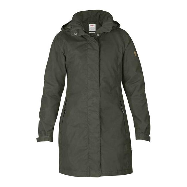 Women Fjallraven UNA JACKET MOUNTAIN GREY  Outlet Online