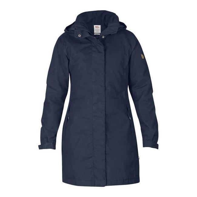 Women Fjallraven UNA JACKET DARK NAVY Outlet Online