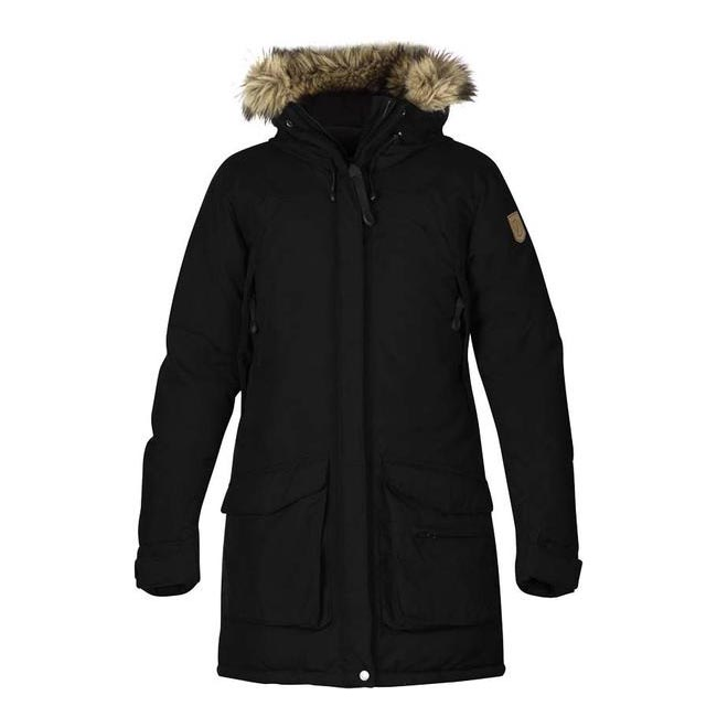 Women Fjallraven KYLA DOWN PARKA BLACK  Outlet Online