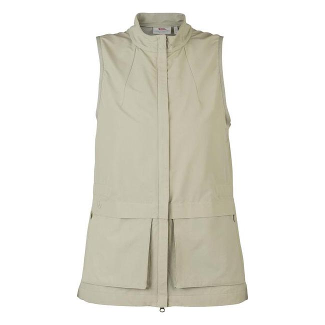 Women Fjallraven TRAVELLERS WOMEN\'S VEST LIMESTONE  Outlet Online