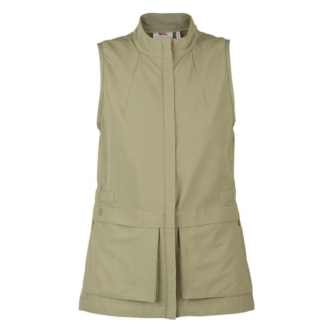 Women Fjallraven TRAVELLERS WOMEN'S VEST SAVANNA  Outlet Online
