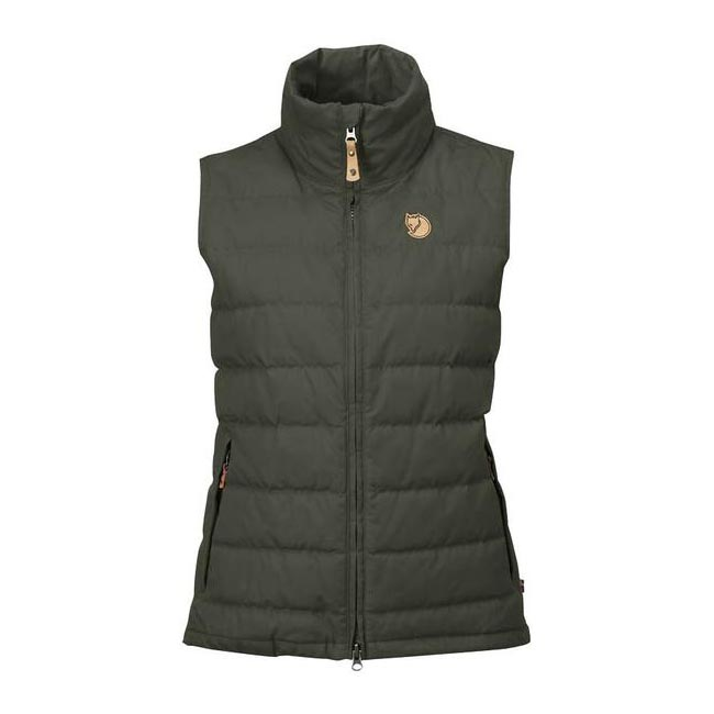 Women Fjallraven OVIK LITE VEST W MOUNTAIN GREY Outlet Online