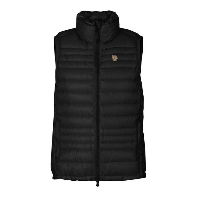 Women Fjallraven PAK DOWN VEST WOMEN\'S BLACK  Outlet Online