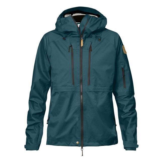 Women Fjallraven KEB ECO-SHELL JACKET W GLACIER GREEN  Outlet Online