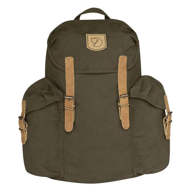Bags Fjallraven ÖVIK BACKPACK 15 DARK OLIVE  Outlet Online