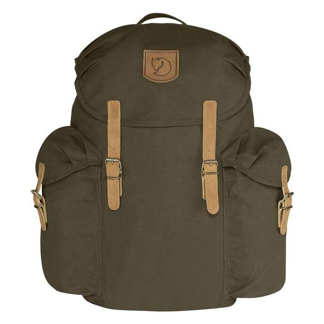 Bags Fjallraven ÖVIK BACKPACK 20 DARK OLIVE Outlet Online