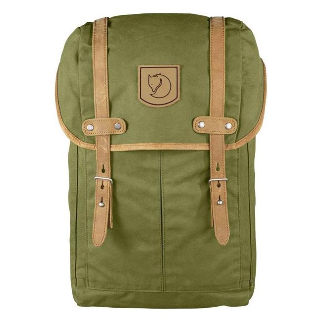 Bags Fjallraven RUCKSACK NO.21 SMALL BACKPACK MEADOW GREEN  Outlet Online