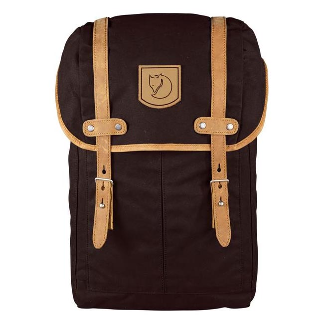 Bags Fjallraven RUCKSACK NO.21 SMALL BACKPACK HICKORY BROWN  Outlet Online