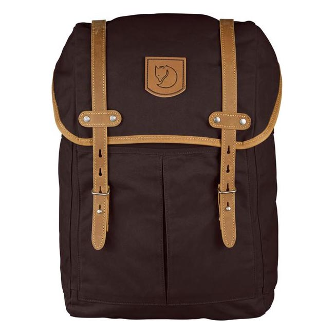 Cheap Fjallraven Bags HICKORY BROWN  RUCKSACK NO.21 MEDIUM BACKPACK Online