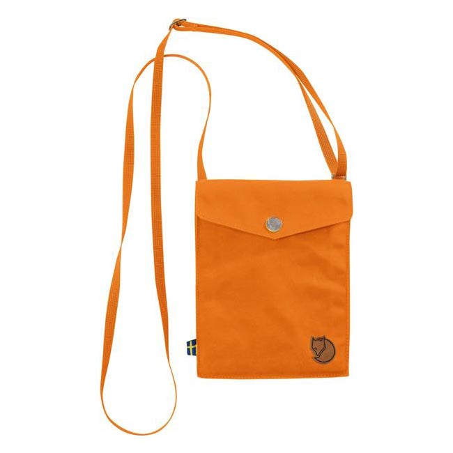 Cheap Fjallraven Bags SEASHELL ORANGE  POCKET SHOULDER BAG Online