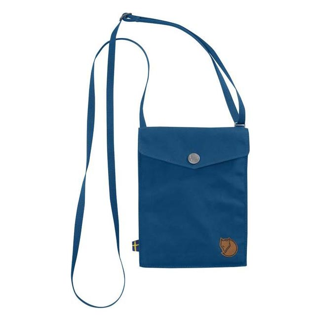 Cheap Fjallraven Bags LAKE BLUE  POCKET SHOULDER BAG Online