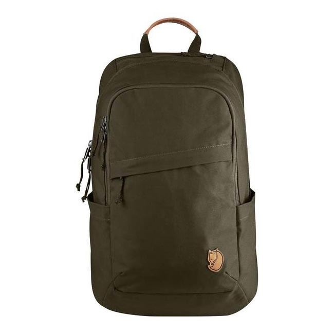 Bags Fjallraven RÄVEN 20 BACKPACK DARK OLIVE  Outlet Online