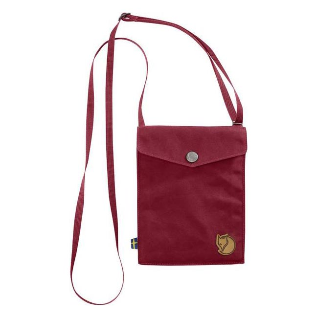 Bags Fjallraven POCKET SHOULDER BAG REDWOOD Outlet Online
