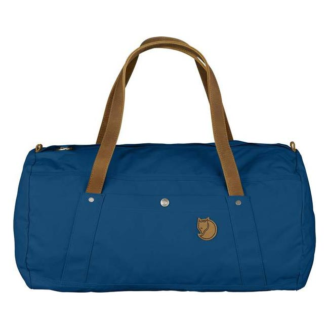 Cheap Fjallraven Bags LAKE BLUE DUFFEL NO. 4 DUFFEL BAG Online