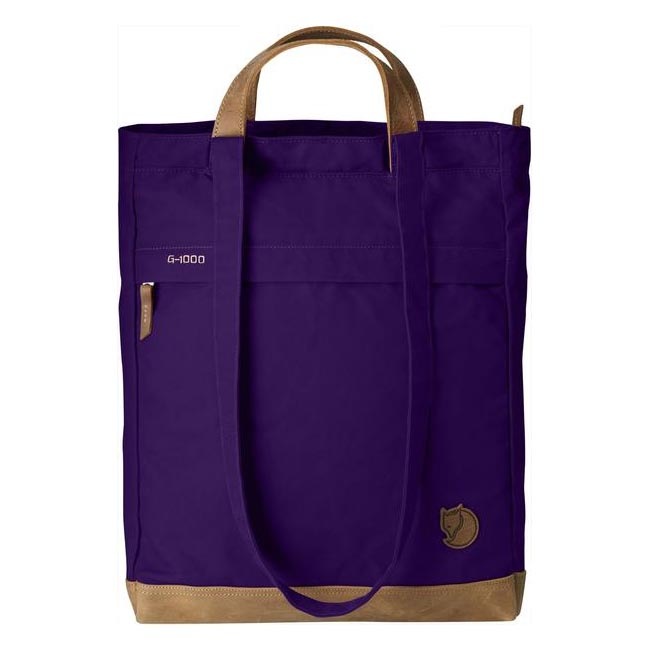 Bags Fjallraven TOTEPACK NO. 2 PURPLE Outlet Online
