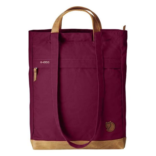 Bags Fjallraven TOTEPACK NO. 2 PLUM Outlet Online