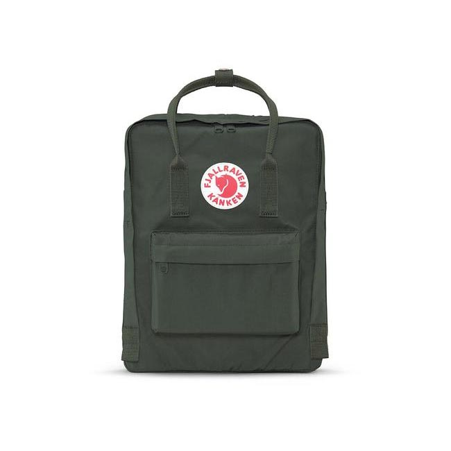 Bags Fjallraven KÅNKEN BACKPACK FOREST GREEN Outlet Online