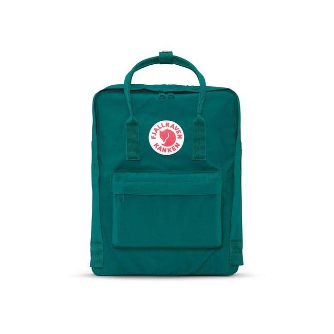 Bags Fjallraven KÅNKEN BACKPACK OCEAN GREEN Outlet Online