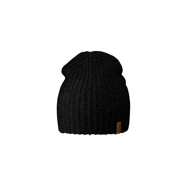 Equipment Fjallraven OVIK MELANGE BEANIE BLACK  Outlet Online
