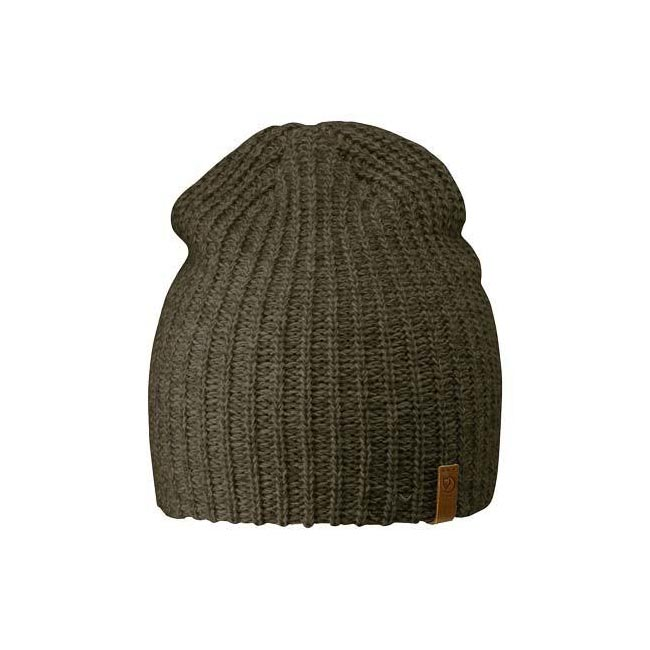 Equipment Fjallraven OVIK MELANGE BEANIE DARK OLIVE  Outlet Online