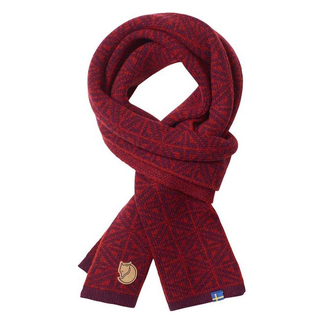 Equipment Fjallraven FROST SCARF DARK GARNET Outlet Online