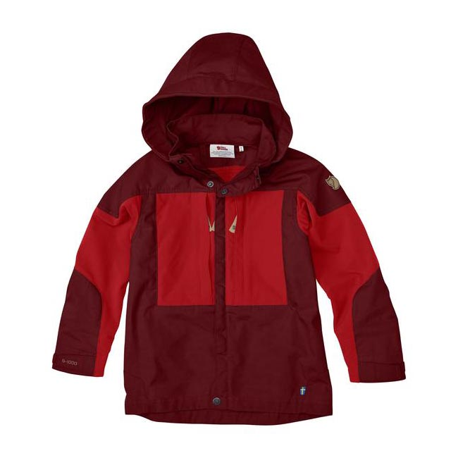 Women Fjallraven KIDS KEB JACKET OX RED  Outlet Online